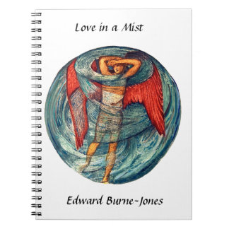 Love in a Mist by Burne-Jones Notebook