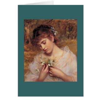 Love in a Mist by Sophie Anderson Card