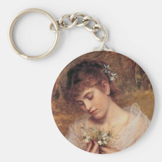 Love in a Mist by Sophie Anderson Keychain