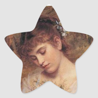 Love in a Mist by Sophie Anderson Star Sticker