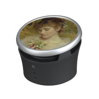 Love in a Mist (oil on canvas) Bluetooth Speaker