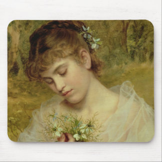 Love in a Mist (oil on canvas) Mouse Pad