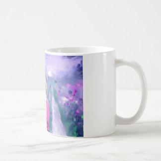 Love in a purple field.jpg coffee mug