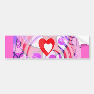 Love in a Spiral. Bumper Sticker