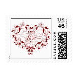 Love in Any Language in Red Postage