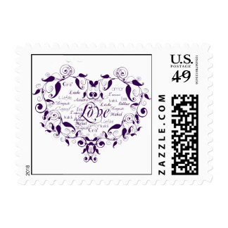 Love in Any Language Postage