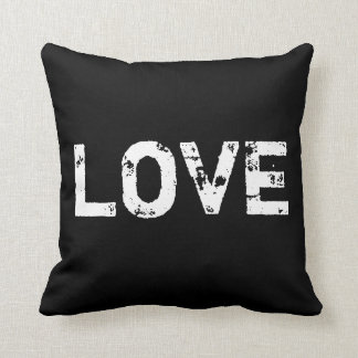 Love in Black and White Pillow