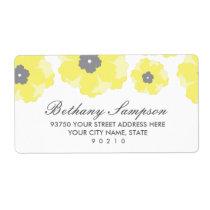 Love in Bloom Address Labels