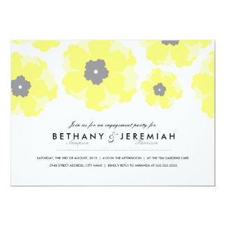 Love in Bloom Engagement Party Invitation