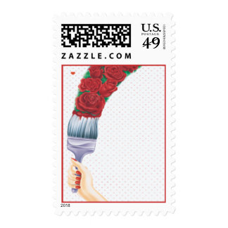 Love In Bloom © Postage Stamp