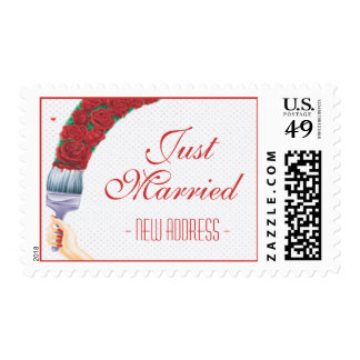 Love In Bloom © Postage Stamps