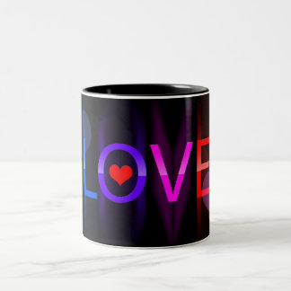 Love in colors coffee mug