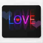 Love in colors mouse pad