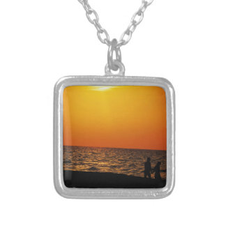 Love in Cuba Silver Plated Necklace
