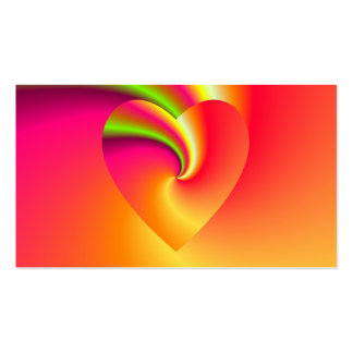 Love in Disguise - At The End of The Rainbow Business Card
