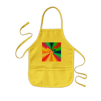 LOVE IN DISGUISE - Rainbow Sun Rays Kids' Apron