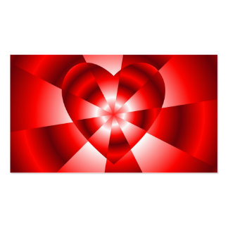 Love in Disguise - Red Radiance Business Card