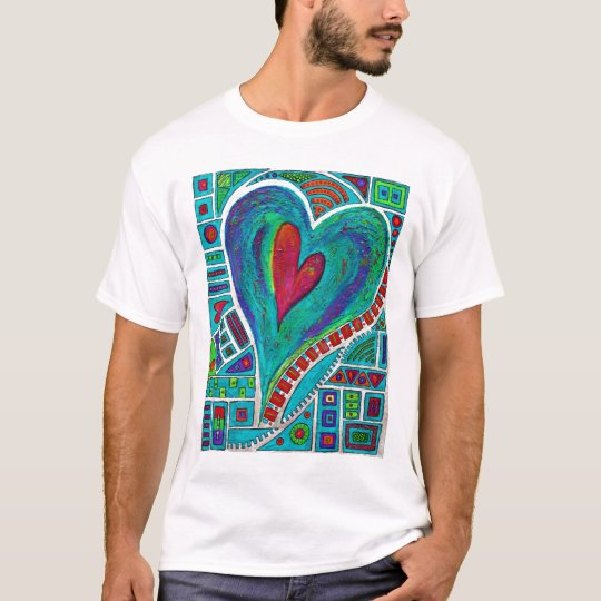 Love In Every Heart Adult T T-Shirt