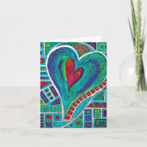 Love In Every Heart Note Card