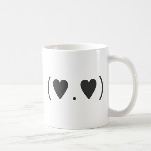 Love in Gray Coffee Mugs