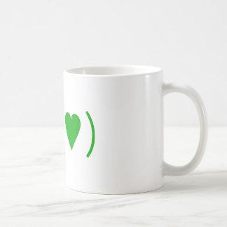 Love in Green Mugs
