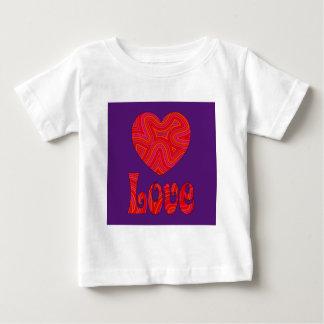 Love in Groovy Swirls Infant T-shirt