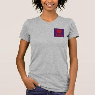 Love in Groovy Swirls Petite T-shirt