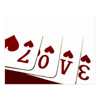 Love in Heart Playing Cards