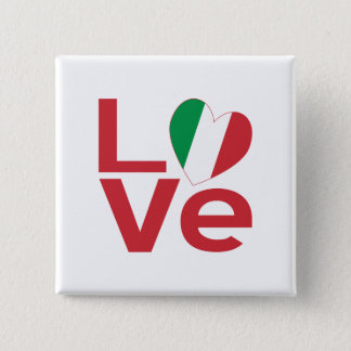 Love in Italy Button
