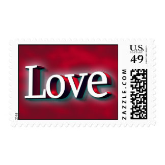 Love In January Wedding Stamps