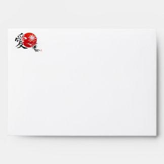 Love in Kanji Envelope