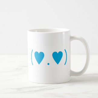 Love in Light Blue Coffee Mug