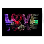Love in Lights with honeysuckle Greeting Card