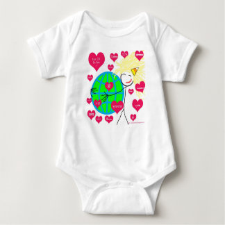 Love in many languages baby bodysuit