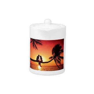 Love In Paradise Teapot