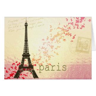 Love in Paris Greeting Card