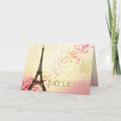 love in paris greeting card from zazzle love in paris 400x400