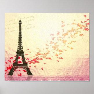 Love in Paris in the springtime Poster