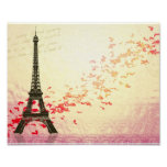 Love in Paris in the springtime Posters