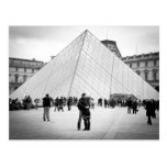 Love in Paris, Louvre Post Cards