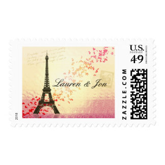 Love in Paris Postage