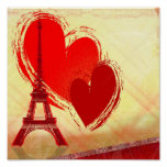 Love in Paris Print