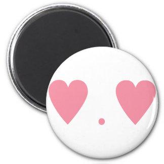 Love in Pink 2 Inch Round Magnet