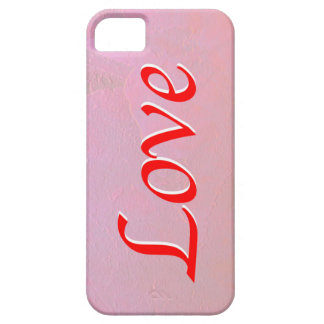 Love In Pink and Red iPhone Cover