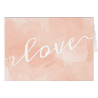 Love in Pink Notecard Note Card