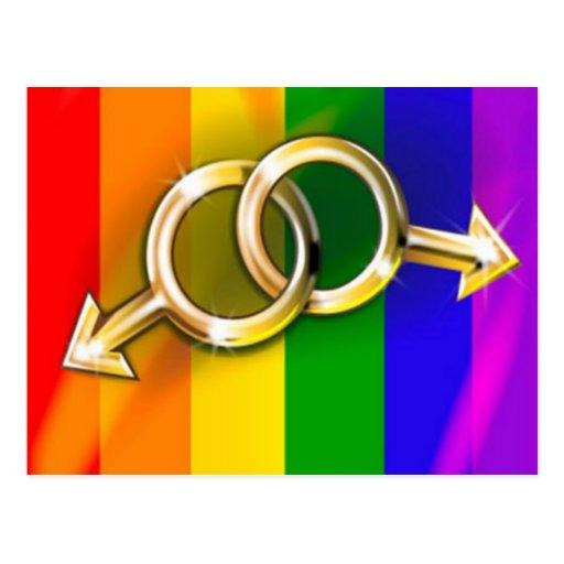 Love in Pride Post Cards