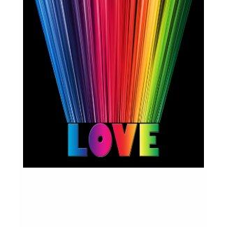 Love in Rainbow Colors shirt