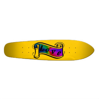 Love in rainbow Fantasy kind - kind Deco Skateboard