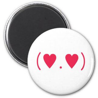 Love in Red 2 Inch Round Magnet