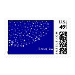 Love In Star Stamps